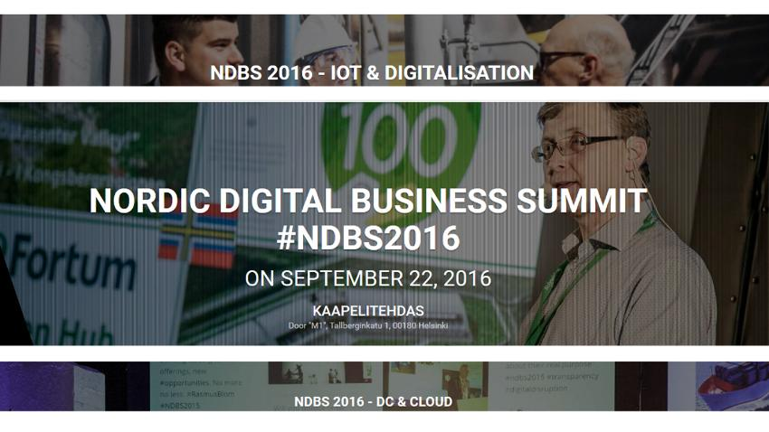 NORDIC DIGITAL BUSINESS SUMMIT #NDBS2016