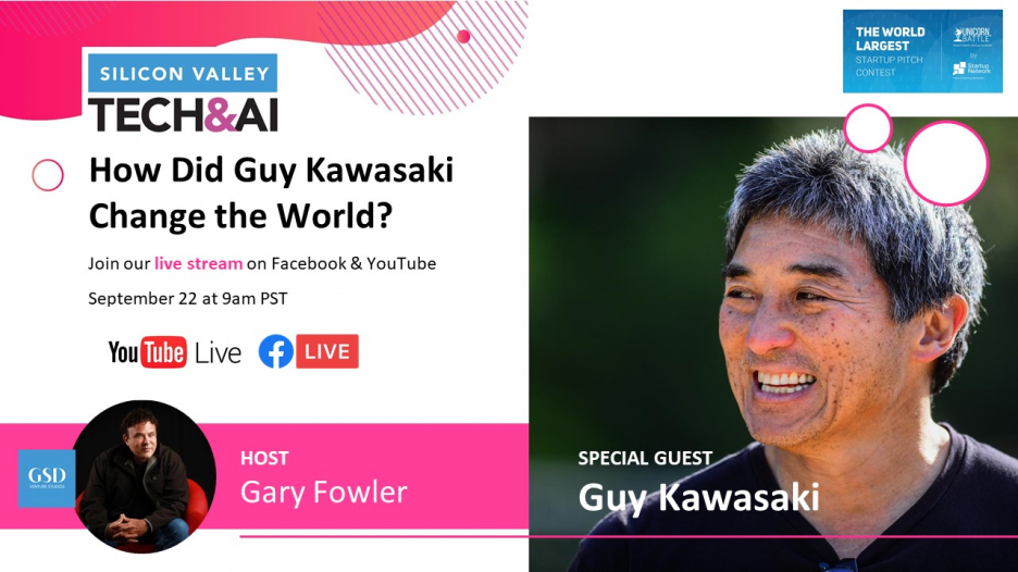 Gary Fowler's Show : How did Guy Kawasaki change the World?