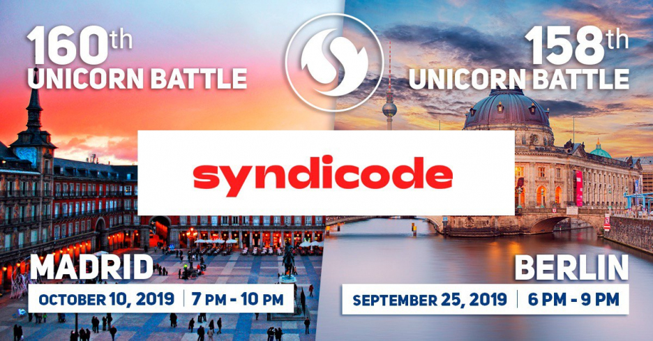 Syndicode is a Partner of Unicorn Battles