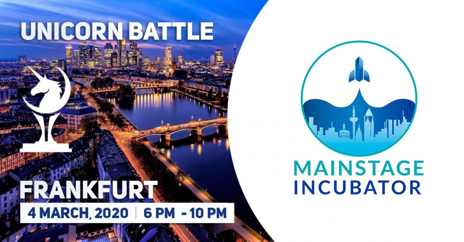Many thanks to Mainstage Incubator for supporting Unicorn Battles in Frankfut