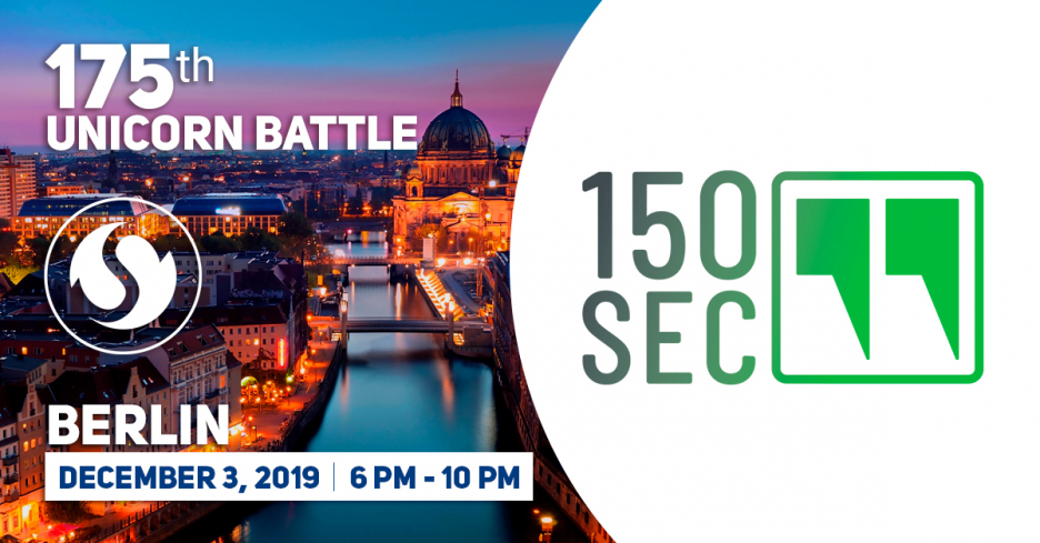 150sec is a Partner of the 175th Unicorn Battle
