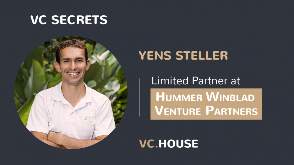 Investment Interview with Yens Steller, LP at Hummer Winblad Venture Partners
