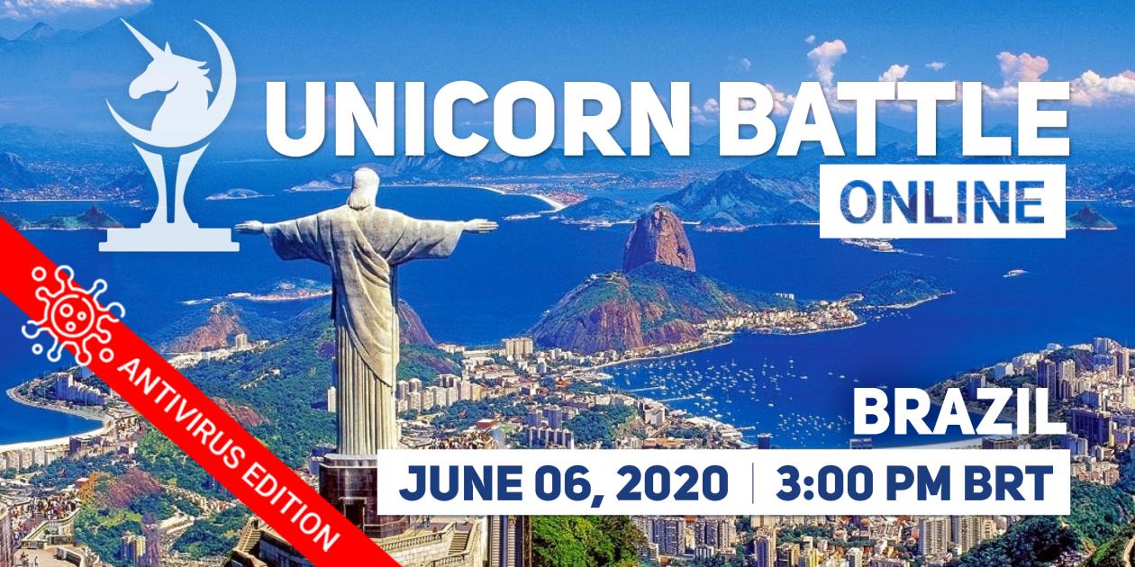 Online Unicorn Battle in Brazil