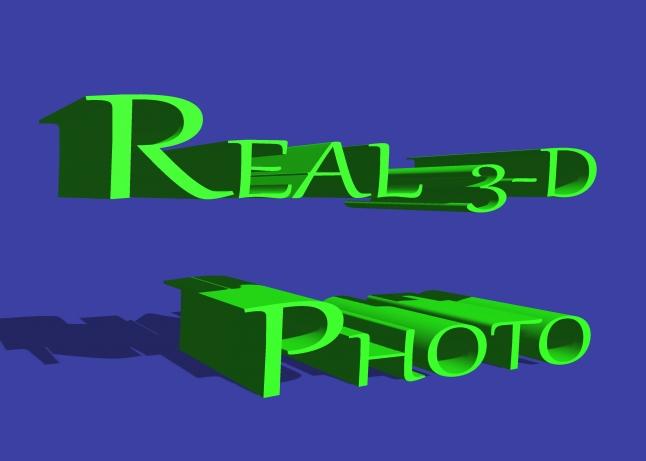 Фото - Real photo 3-D