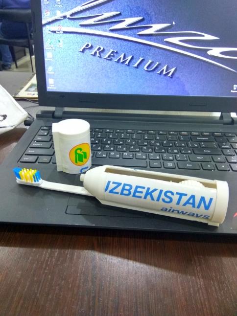 Фото - Новый тип зубной щетки с зубной пастой
