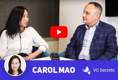 Carol Mao for YouTube-canal VC Secrets