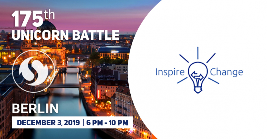 Inspire Change has become a Partner of the Unicorn Battle in Berlin
