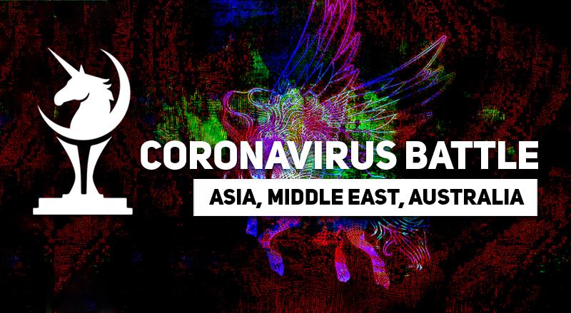 Coronavirus Battle Asia