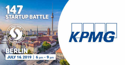 KPMG is the Partner of the 147 Startup Battle in Berlin!