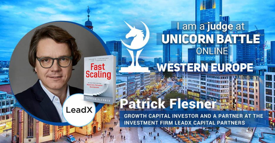 We are thrilled to introduce Patrick Flesner - Partner at LeadX Capital Partners