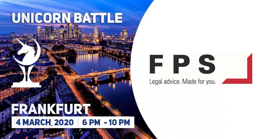 Unicorn Battle in Frankfurt. FPS law - silver sponsor announcement