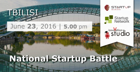 National Startup Battle, Tbilisi