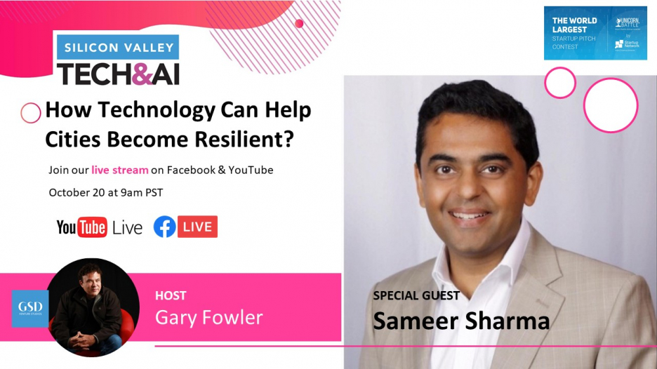 Gary Fowler's Show: How technology can help cities become resilient?
