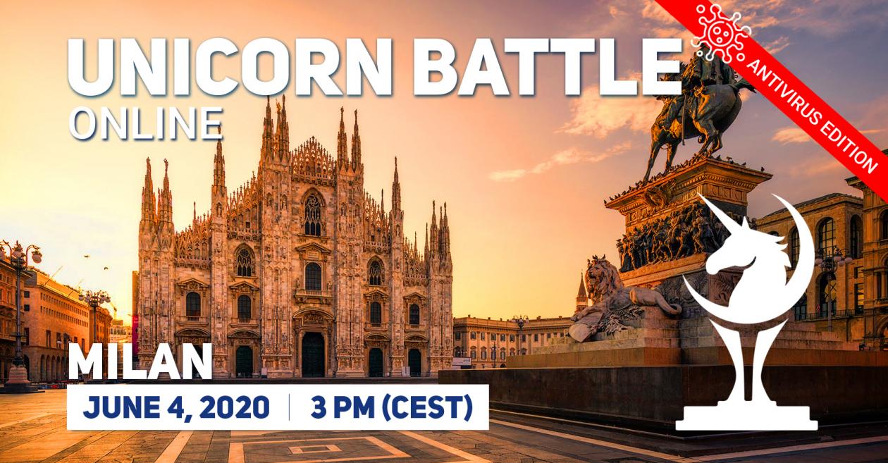 Unicorn Battle in Milan