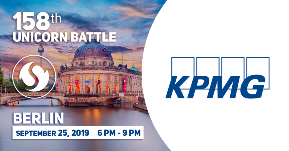 KPMG is the Partner of the 158 Unicorn Battle in Berlin