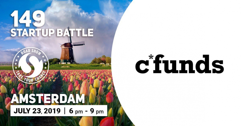 Meet c*funds, - the Partner of the Startup Battle in Amsterdam