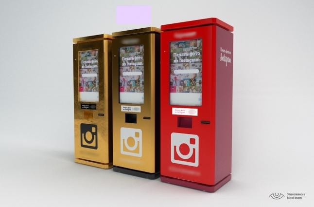 """Фото - Автоматы для печати фотографий из """"Instagram"""""""