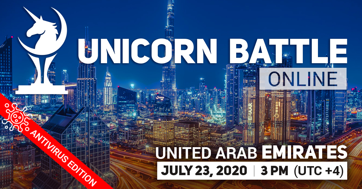Unicorn Battle in the United Arab Emirates