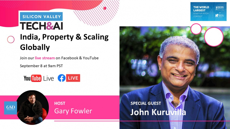 Join Gary Fowler's Show: India, Property & Scaling Globally