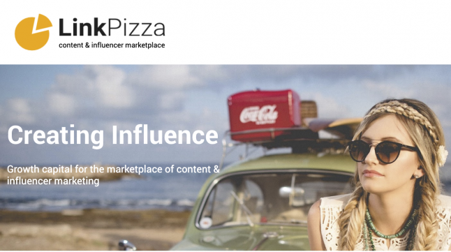 Photo - LinkPizza content & influencer marketplace