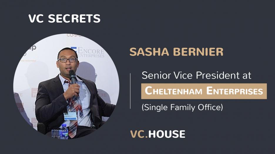 Investment Interview with Sasha Bernier, Senior Vice President at Cheltenham Ent