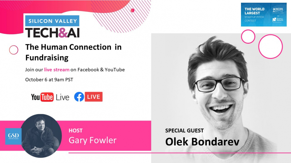 Gary Fowler's Show: Human Connection in Fundraising with Olek Bondarev