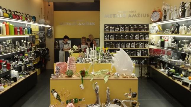 Фото - Сеть специализированных магазинов посуды в Литве, 18 лет на рынке