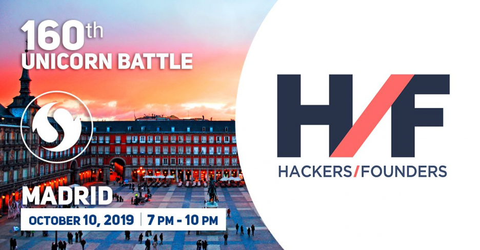 Hackers & Founders (H/F) had become a Partner of the Unicorn Battle in Madrid