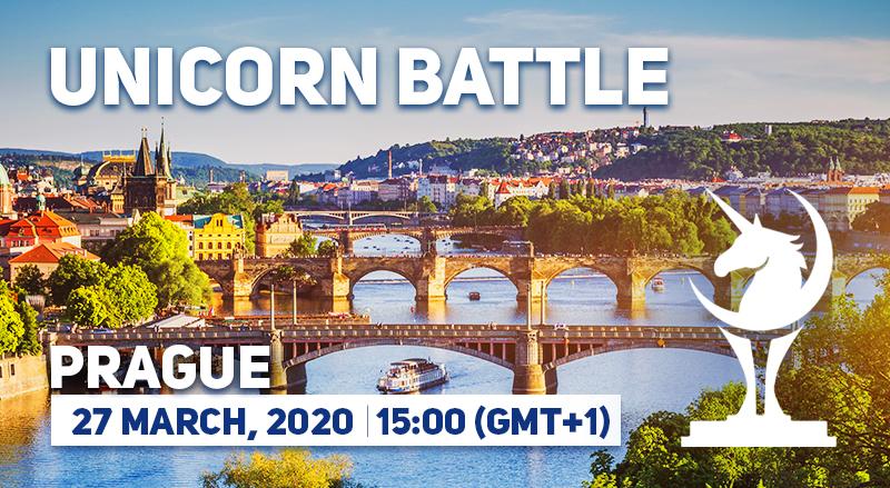 Unicorn Battle in Prague