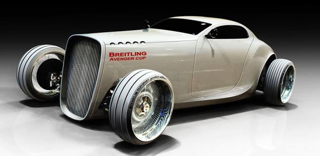 Фото - автомобиль в ретро стиле с электодвигателем