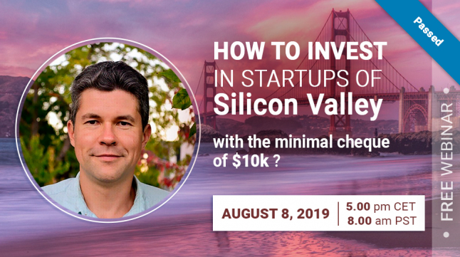 How to invest in Startups of Silicon Valley with the minimal cheque of $10k?