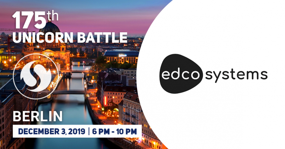 Edcosystems has become the Partner of the 175 Unicorn Battle in Berlin