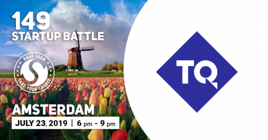 TQ is the Partner of the 149 Startup Battle in Amsterdam!