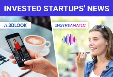Great news about our portfolio startups Instreamatic and 3DLook after the completion of investment rounds.
