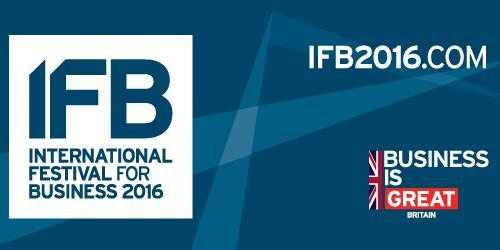 The International Festival for Business 2016 (IFB2016)