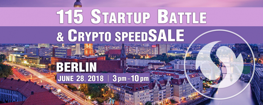 115 Startup Battle, Berlin & Crypto speedSALE