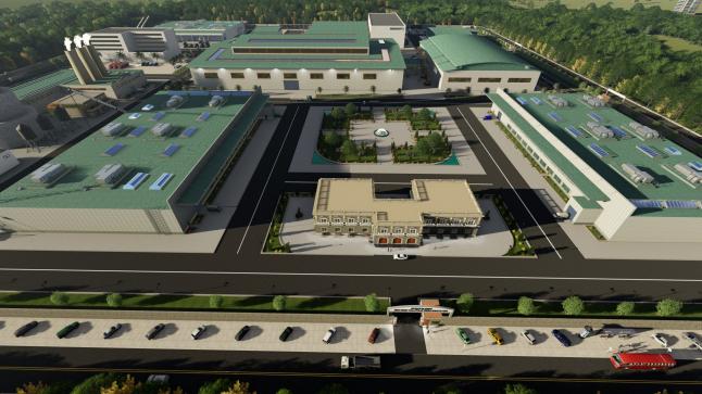 Фото - Строительство завода в Азербайджане