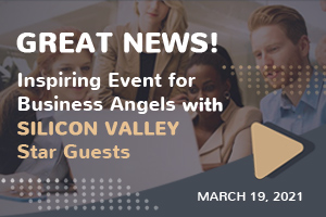 Great news! Incredible event for business angels with Silicon Valley star guests
