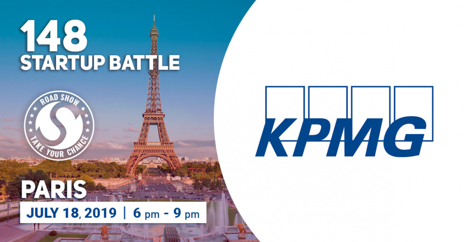 Join the exciting pitch competition on the 18th of July at KPMG Paris Tour Eqho