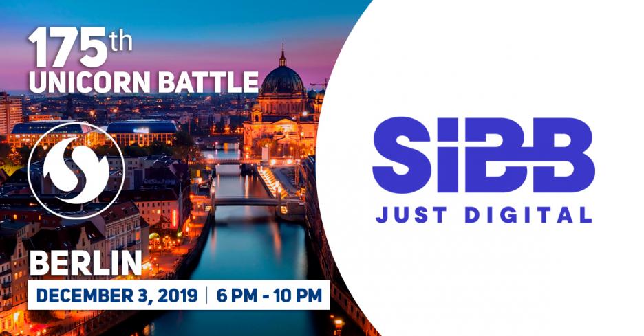 SIBB e.V.  is the Partner of the 175 Unicorn Battle, Berlin