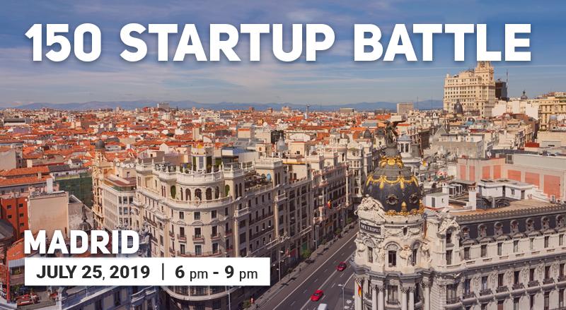 150 Startup Battle in Madrid