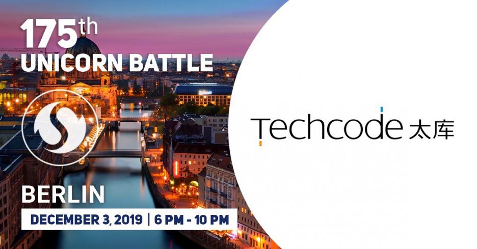 Meet TechCode - the Partner of the 175 Unicorn Battle
