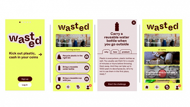 Photo 1 - WASTED rewards sustainable behaviour