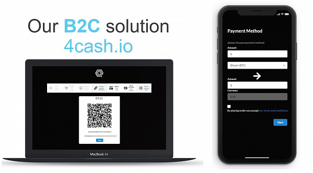 Photo 2 - Pay with bitcoin, Retail receive cash