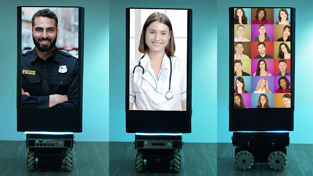 Photo 2 - Video conferencing platform for digital signage screens