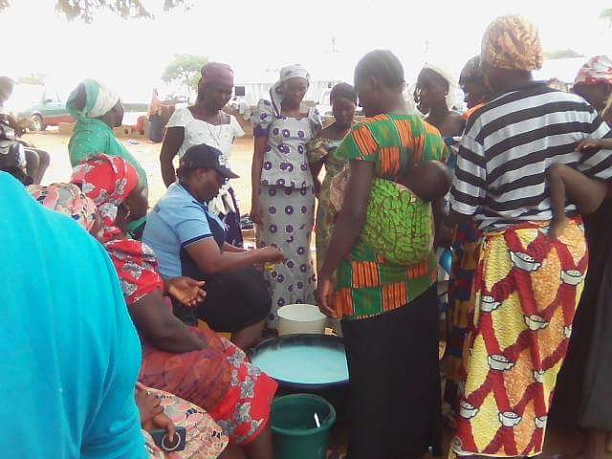 Photo 1 - Rural Women Empowerment at Okekudu Village.