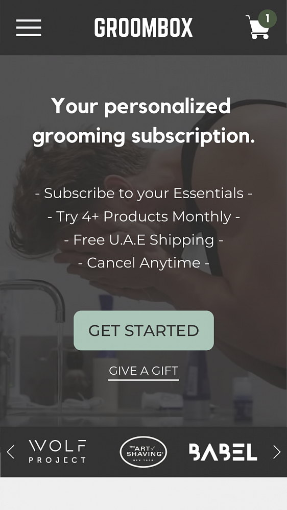 Photo 1 - Subscribe to grooming essentials and try new products